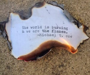 burn, fire, and life image