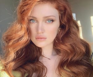 redhead, girl, and beautiful image