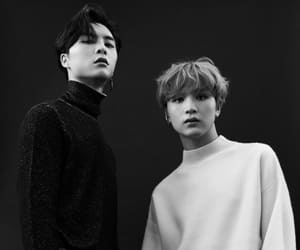 haechan, johnny, and nct image