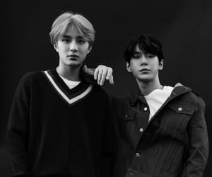 jungwoo, doyoung, and nct u image