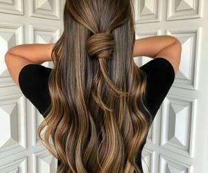 beauty, hair, and long image