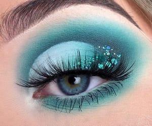blue, eye, and mermaid image