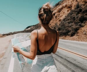 goals, girl, and travel image