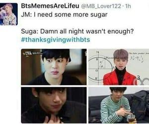 meme, minyoongi, and bts image