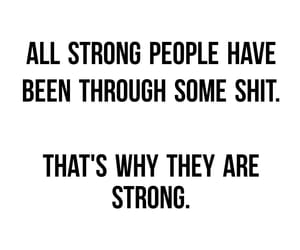 life, quote, and strength image