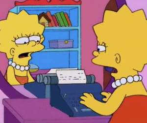 homework, lisa, and lisa simpson image