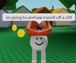 cowboy, roblox, and yeehaw image