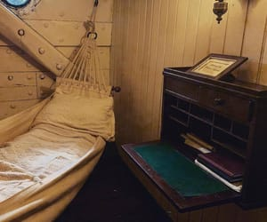 cabin, cozy, and ship image
