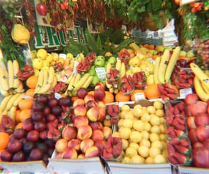 theme, fruit, and tropical image