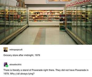 funny, tumblr, and powerade image