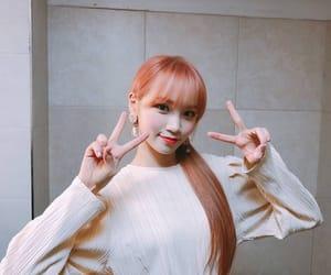 kpop, izone, and kim chaewon image