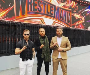 wwe, pete dunne, and trent seven image