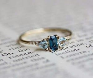 ring, book, and blue image