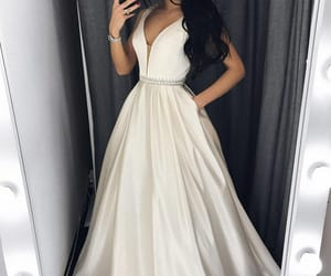 evening dress, dress, and prom dresses image