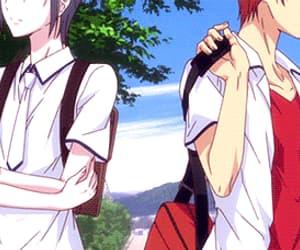 anime, gif, and fruits basket image