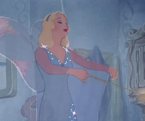 animation, beautiful, and blue fairy image