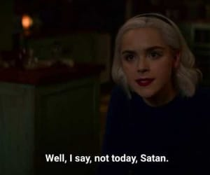 humor, sabrina, and satan image