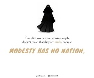 quotes, muslim, and niqab image