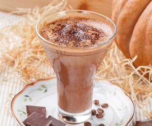breakfast, chocolate, and coffee image