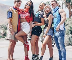 boys, coachella, and fashion image