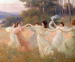 art, dance, and girl image