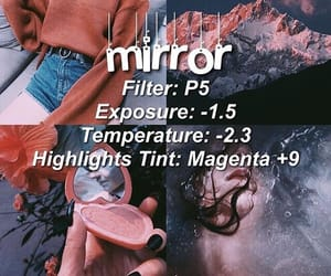 editing, filter, and photo editing image