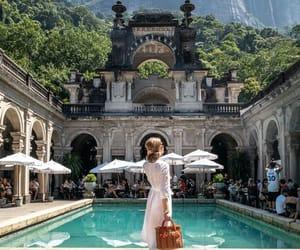 fashion, girl, and hotel image