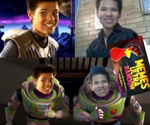 buzz lightyear, infancia, and shark boy image