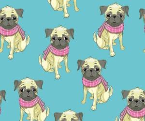 animals, dog, and illustrations image