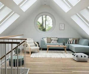 attic room, awesome, and decoration image