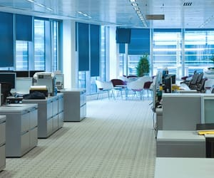 office cleaning services, carpet cleaning services, and window cleaning services image