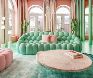 color, green, and room image