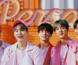 halsey, bts, and boy with luv image