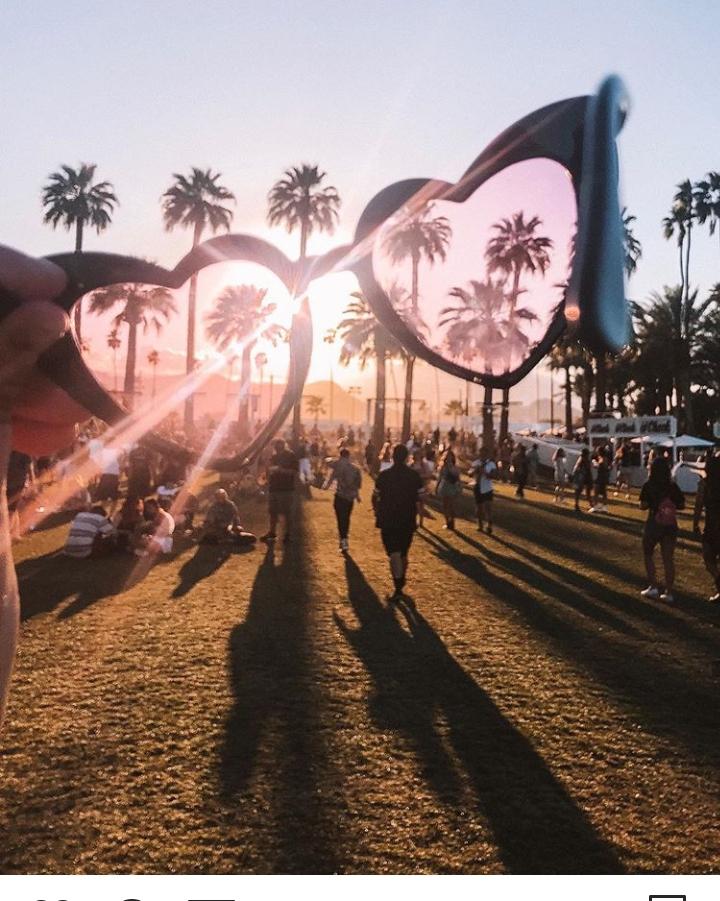 aesthetic, coachella, and heart image