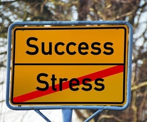 stress relief, stress management myth, and stress-free lifestyle image
