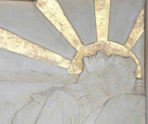 art, gods, and gold image