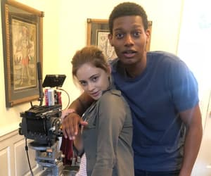 actor, behind the scenes, and josephine langford image