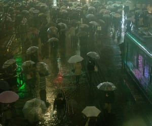 people, photography, and rain image