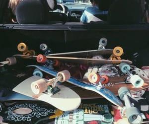 aesthetic, skateboard, and skate aesthetic image