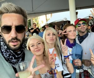 alex gaskarth, all time low, and coachella image