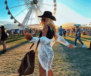 california, coachella, and music image