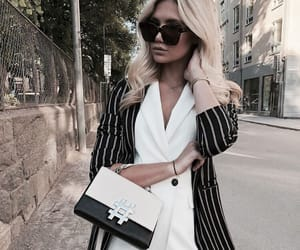 accessories, blazer, and chic image