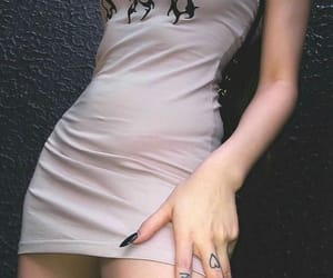 aesthetic, dress, and hands image