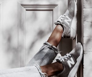 grey, sneakers, and legs image
