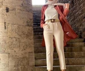 high waisted pants, bow pants, and dressy pants image