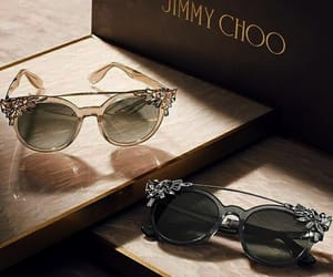 fashion, sunglasses, and Jimmy Choo image