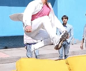 gif, kpop memes, and jhope image