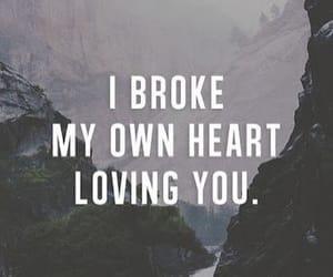 ex, sad, and lovequote image