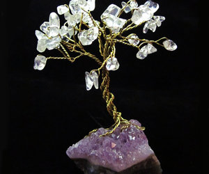 gem tree, wire tree, and bonsai image