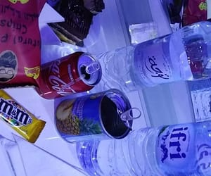 chips, chocolat, and coca cola image